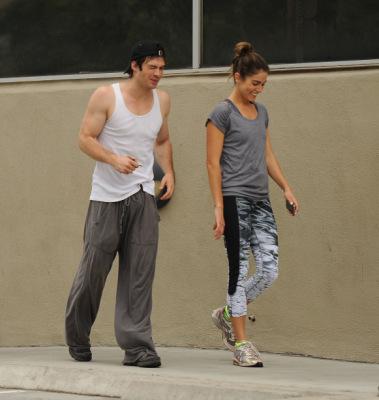 Йен и Никки Рид в Лос-Анджелесе [20 сентября]