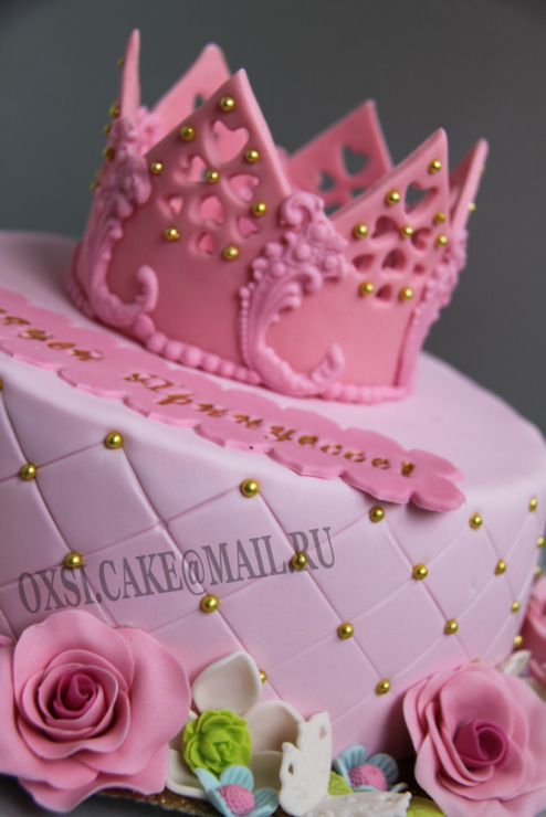 Торт для девочки на 6 лет