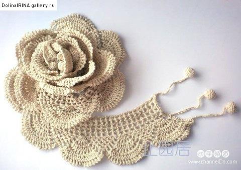 плетени рози