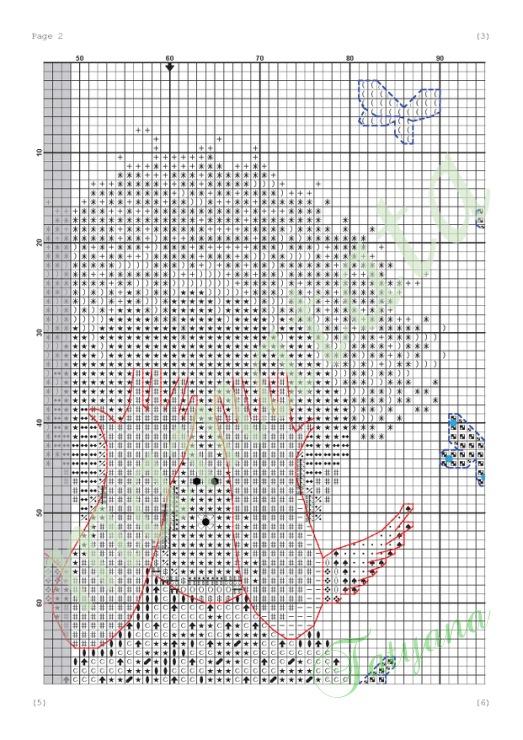 Схема вышивки по картине