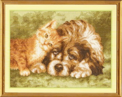 Золотое руно вышивка с собаками