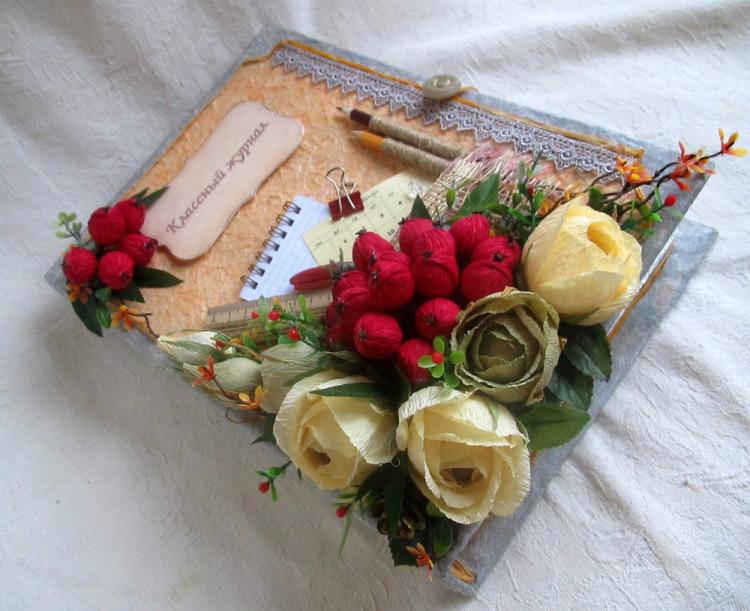 Идеи подарков на день учителя своими руками