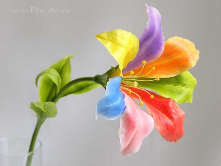 Цветик семицветик сделать своими руками фото