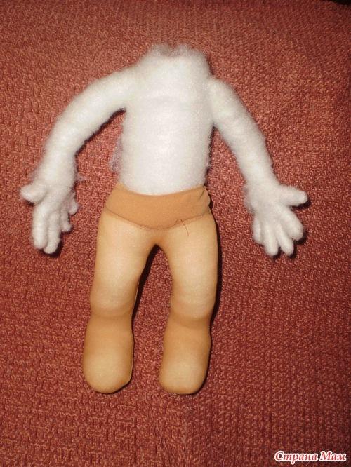 Сшить куклу из капрона