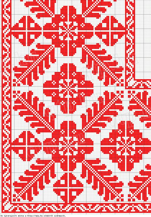 Схемы, вышивки, ботаника - cross stitch - chart