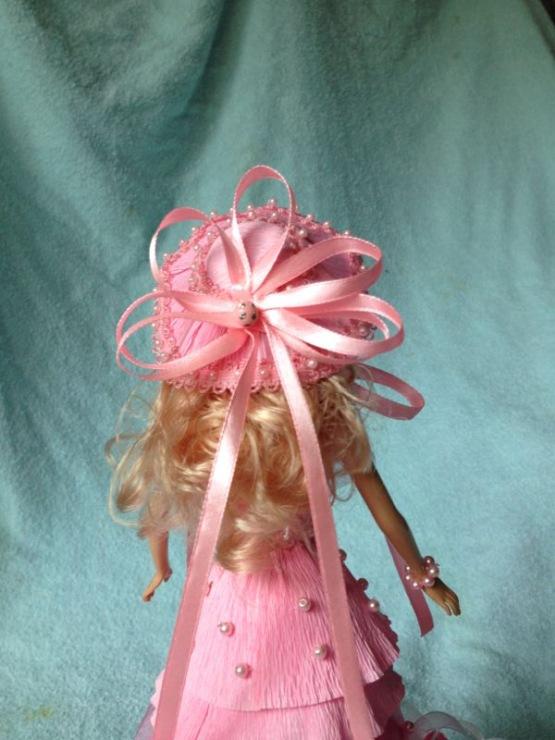 Шляпка для куклы своими руками из гофрированной бумаги