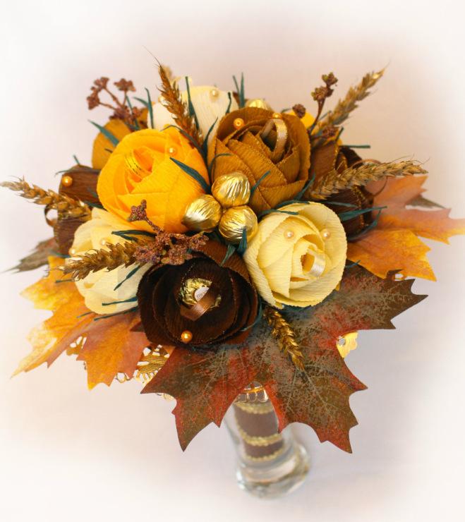 Букеты на золотую осень